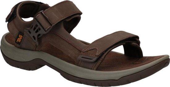 Teva Tanway Leather Heren Sandalen - Bruin - Maat 42