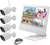 Syren Draadloze Beveiligingscamera Set met Wi-Fi