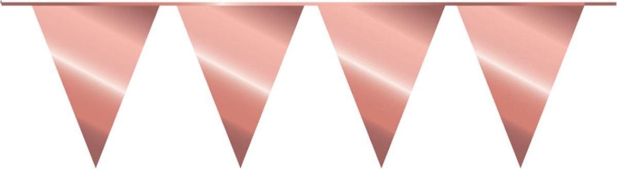 Slingers Vlaggenlijn Rose Goud Verjaardag Vlaggenlijn 10 Meter Voor Binnen En Buiten