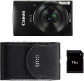 Canon IXUS 190 - Zwart Essentials Kit