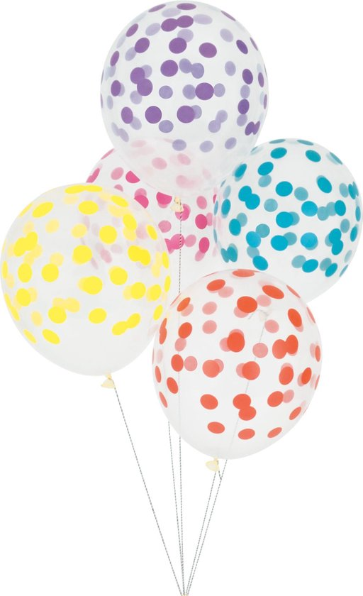 My Little Day - Ballonnen - Bollen multicolor - set 5 - 30cm