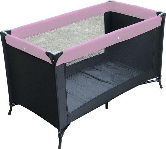 Product: Kekk Charlene Campingbed - Zwart Roze, van het merk Kekk