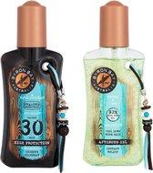 Byron Bay Coconut Oilspray SPF 30- 200ml & Aloe Vera Aftersun- 200ml * VOORDEELPACK*