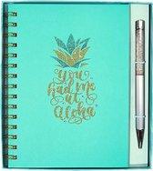 Cadeau |Gift | Geschenk |Giftbox | Geschenkset | Notitieboekje + pen | You had me at aloha