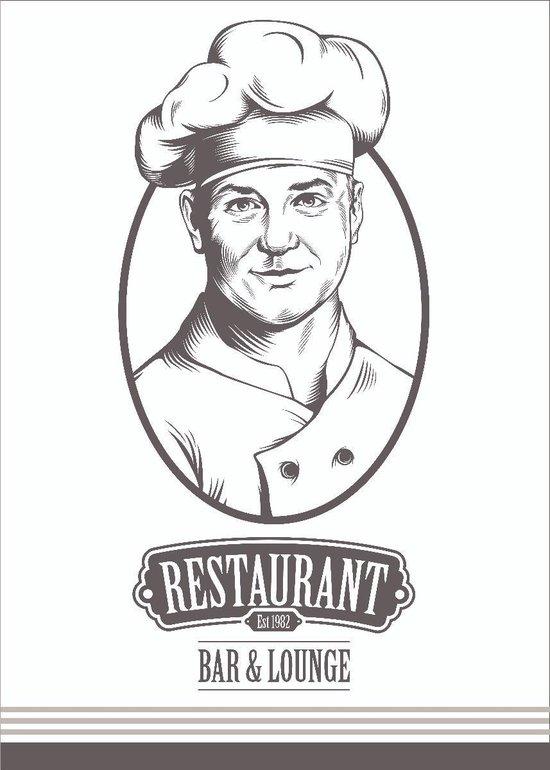 Clarysse Theedoeken Restaurant Grijs 50x70cm 6 stuks