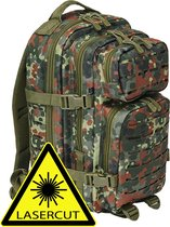 Backpack - Rugzak - LASERCUT Mollie system - medium fleck