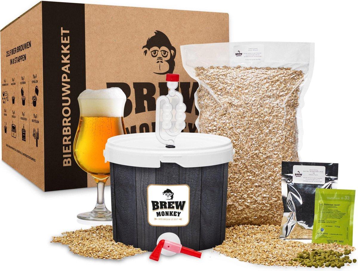 Brew Monkey Bierbrouwpakket - Basis Tripel - Bier brouwen startpakket