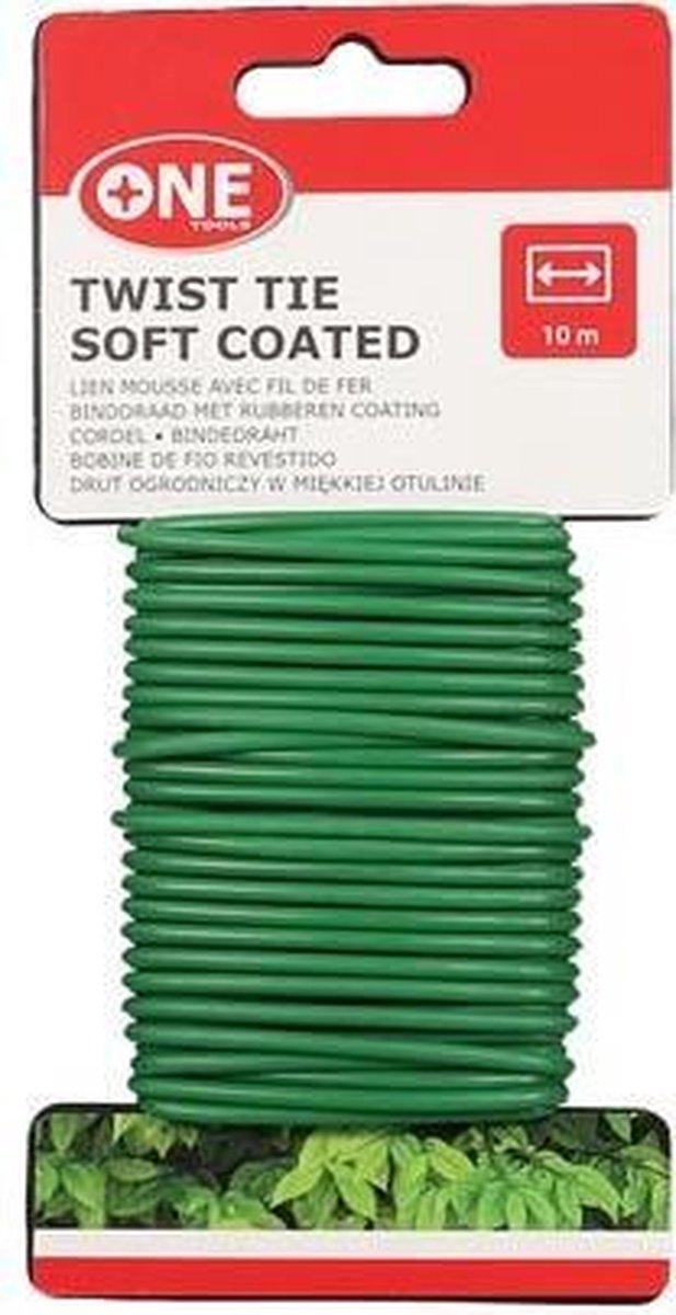 Binddraad 3mm - rubber coating - Rol 10 meter