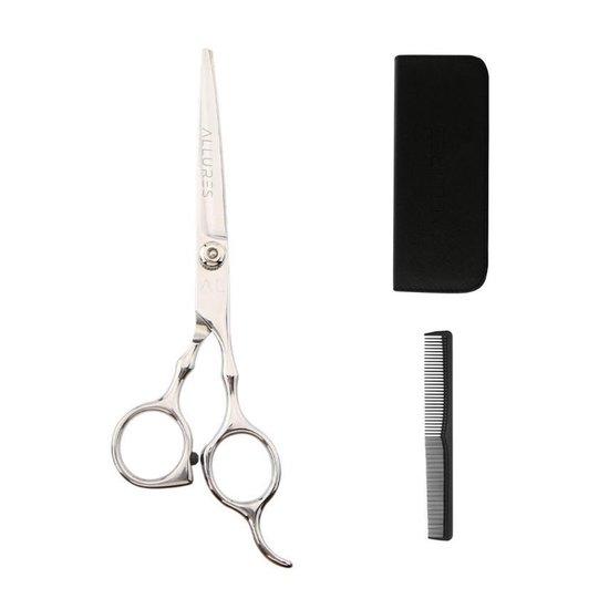 Allures Professionele Kappersschaar Set – Rechtshandig – Knipschaar – Kapper set – Kapper – Kam