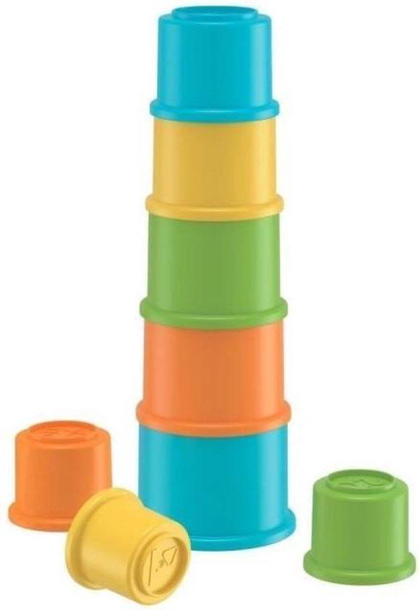 FISHER-PRICE - Nesting cups - Activity speelgoed - 8 cups om te stapelen of te nestelen - 6 maanden en +