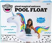 Bigmouth Pool Float Opblaasbare Giant Magical Unicorn Sparkle