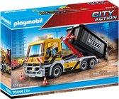PLAYMOBIL City Action Vrachtwagen met wissellaadbak - 70444