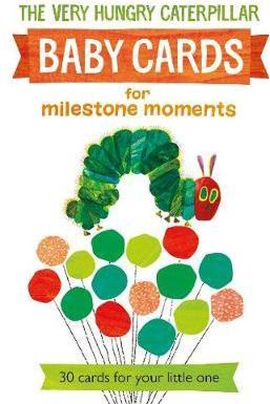 Very hungry caterpillar baby cards