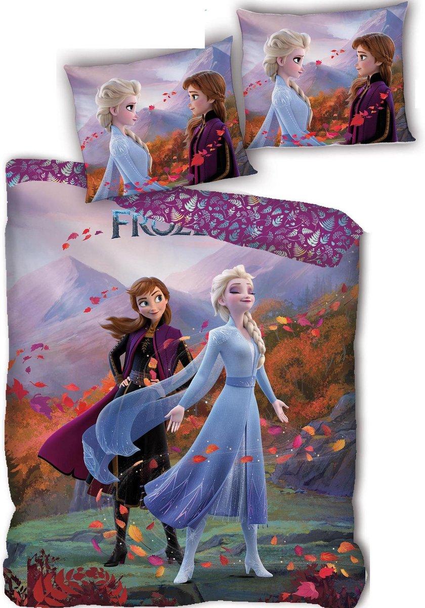 Disney Frozen Dekbedovertrek - Eenpersoons - 140 x 200 cm - polyester kopen