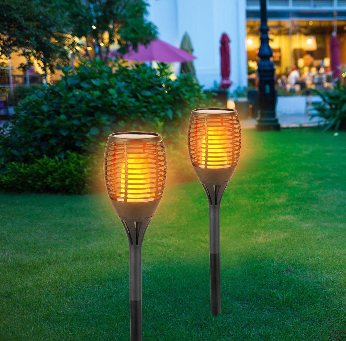 Grundig Solar Prikspot - LED - Zonne energie - 1 stuks - Zwart -  12cm x 77cm