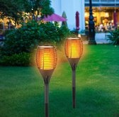 Grundig Solar Prikspot - LED - Zonne energie - 1 stuks - Zwart - Ø12cm x 77cm