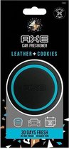 Axe Luchtverfrisser Gel Can Leather + Cookies Zwart/blauw