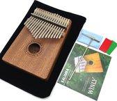 Kalimba Set - Duimpiano - Ukelele -  Kalimba Muziekinstrument - 17 tonen