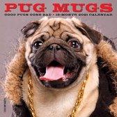 Pug Mugs 2021 Mini Wall Calendar (Dog Breed Calendar)