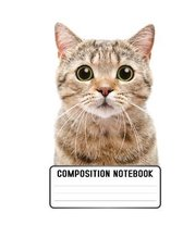 Composition Notebook: gift for cat lovers or for those who just love