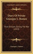 Diary of Private Giuseppe L. Romeo