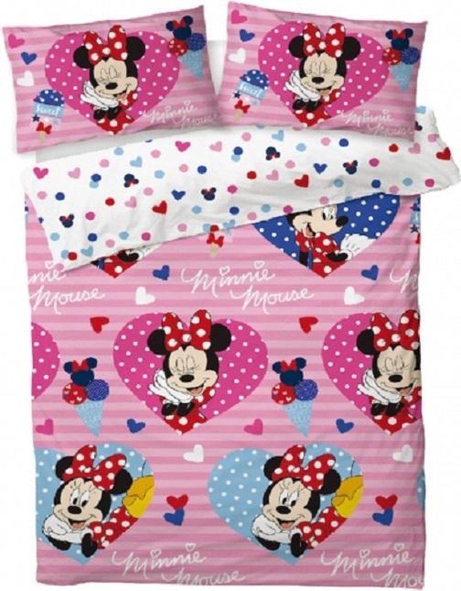Minnie Mouse dekbed 200 x 200 cm. - Disney tweepersoons dekbedovertrek kopen