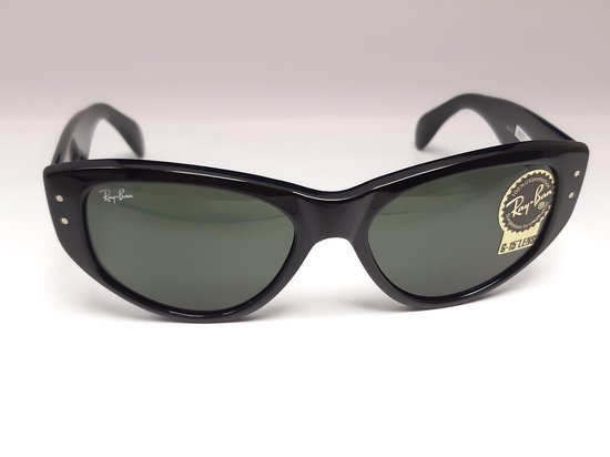 Ray Ban-Vagabond-RB4152-Black Iconic-G15