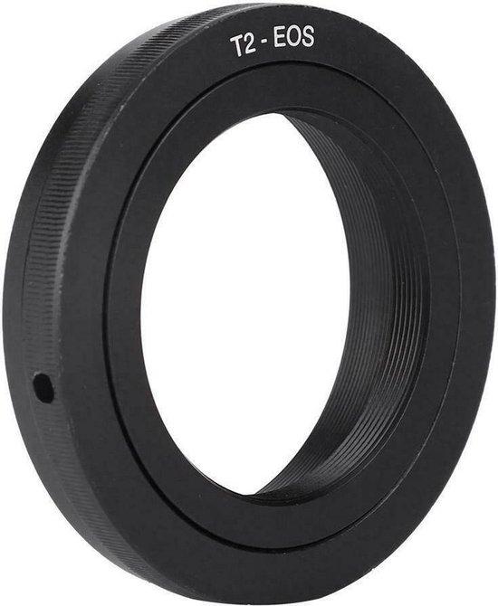 Adapter T2 lens naar Canon EOS EF body