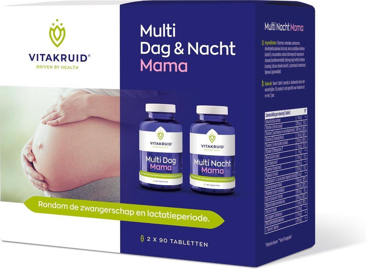 VitaKruid Multi Dag & Nacht Mama 180 tabletten