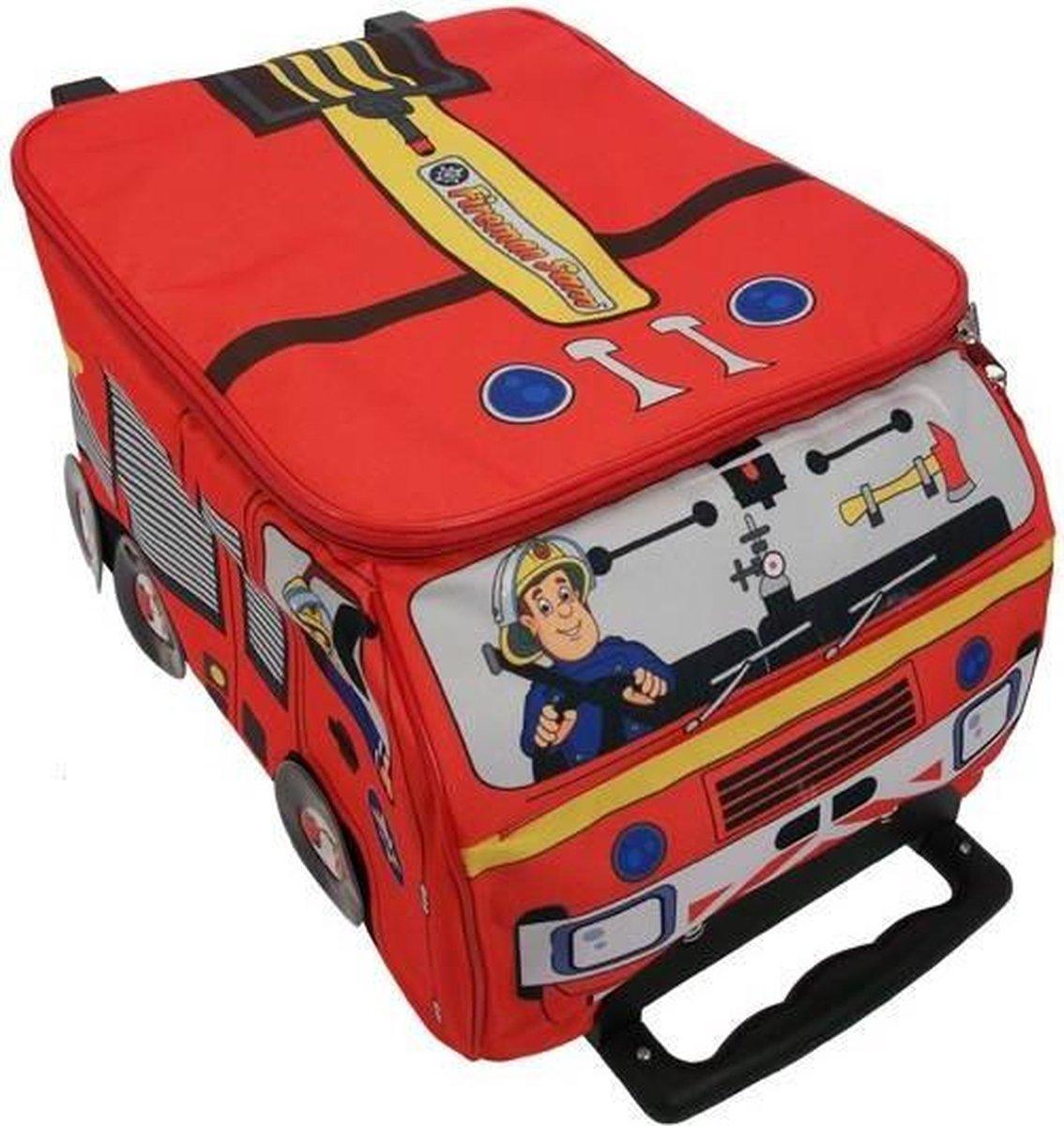 Brandweerman Sam tas op wielen