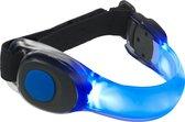 Led Glow armband hardlopen Blauw - hardloop verlichting - running light - safety sport armband - veiligheidsarmband - reflecterend - Lampje Hardlopen - veiligheidsband - Blauw