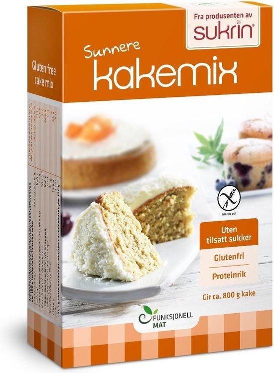 Sukrin Cakemix (360g) - Suikervrij, glutenvrij en verlaagd gehalte aan koolhydraten
