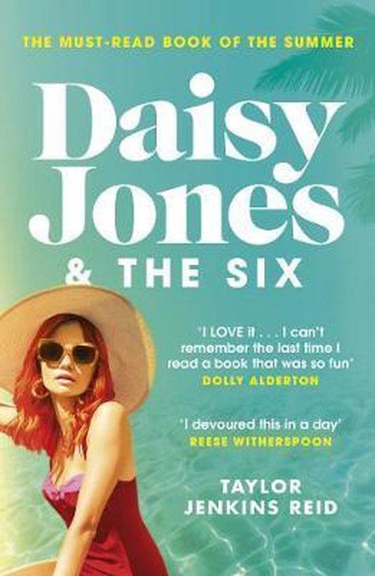 Boek cover Daisy Jones and The Six van Taylor Jenkins Reid (Paperback)