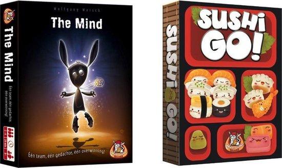 Afbeelding van het spel Spelvoordeelset Sushi Go & The Mind