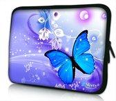 14 inch laptophoes vlinder
