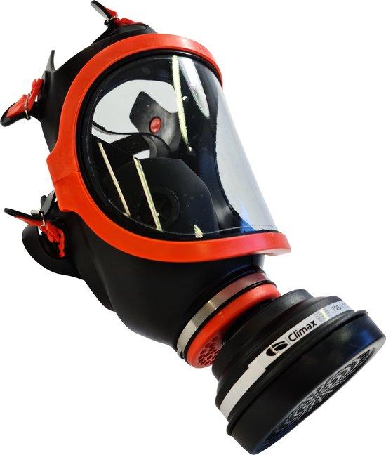 Climax Volgelaatsmasker 731-C Rubber - Inclusief P3 Filter - Gasmasker - Adembescherming