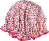 Vagabond Traditionele  Engelse Douchemuts - Pink Floral