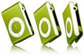 Mini MP3 speler met in-ear koptelefoon Groen