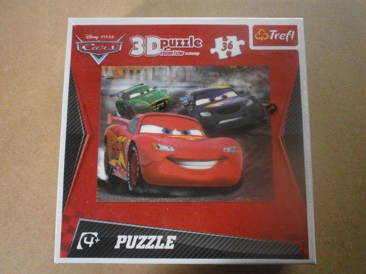 puzzel trefl 3D  25stukjes  cars