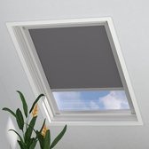 Dakraam Rolgordijn Trend Verduisterend Light Grey voor Velux: U04 / 7 / 804