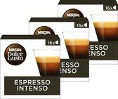 Nescafé Dolce Gusto capsules Espresso Intenso - 48 koffiecups - geschikt voor 48 koppen koffie