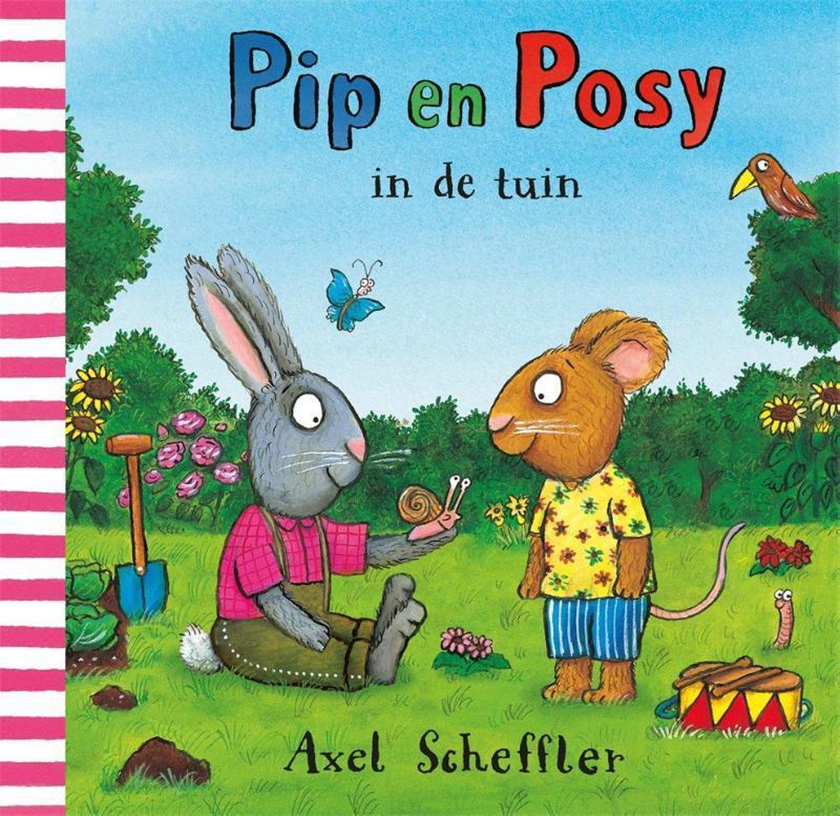 Pip en Posy - Pip en Posy in de tuin
