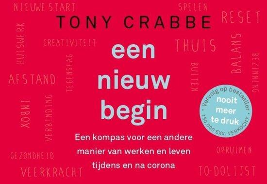 Boek cover Een nieuw begin van Tony Crabbe (Onbekend)
