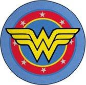 WONDER WOMAN - Microfiber mat - 80cm diameter - Logo Wonder Woman