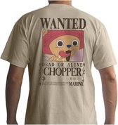 ONE PIECE - T-Shirt Basic Homme Wanted Chopper (S)