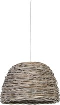 Light & Living Crazy Weaving - Hanglamp - Ø38 cm - Zilver