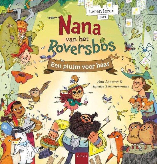 Leren lezen en vermenigvuldigen met Nana van het Roversbos. - Ann Lootens |