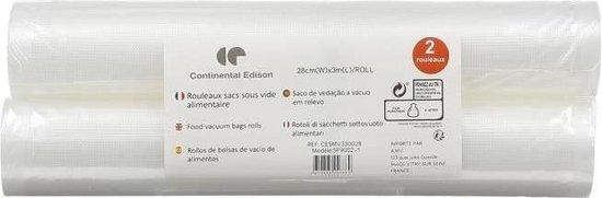 CONTINENTAL EDISON SF9002-12 Rollen voor vacuümmachine 300 * 28