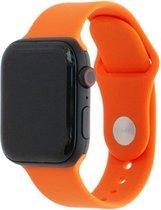 Apple Watch Sport Band Frolic 44/42 mm M/L Oranje