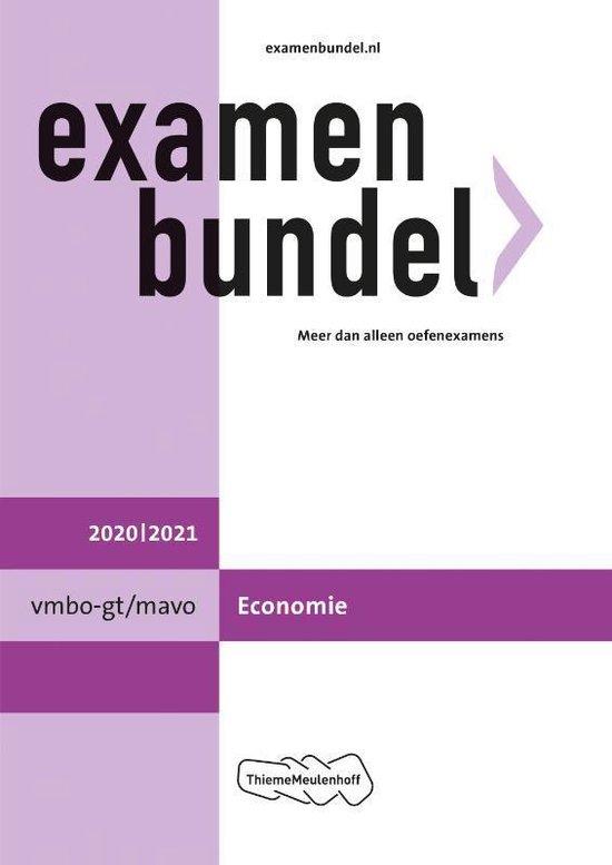 Boek cover Examenbundel vmbo-gt/mavo Economie 2020/2021 van  (Paperback)